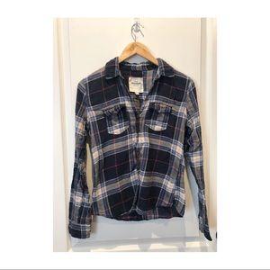 Abercrombie Plaid flannel